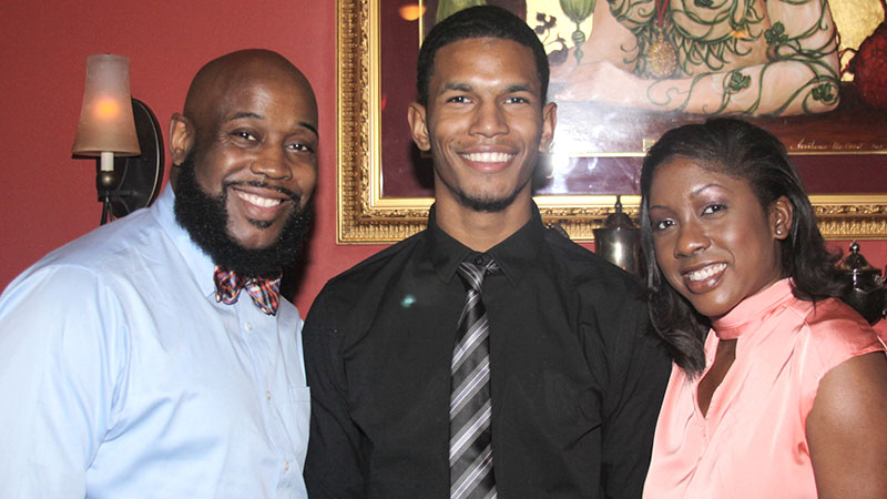 Rudy Poindexter '02 giving back to JWU